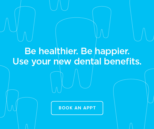 Be Heathier, Be Happier. Use your new dental benefits. - Hiram Dental Group